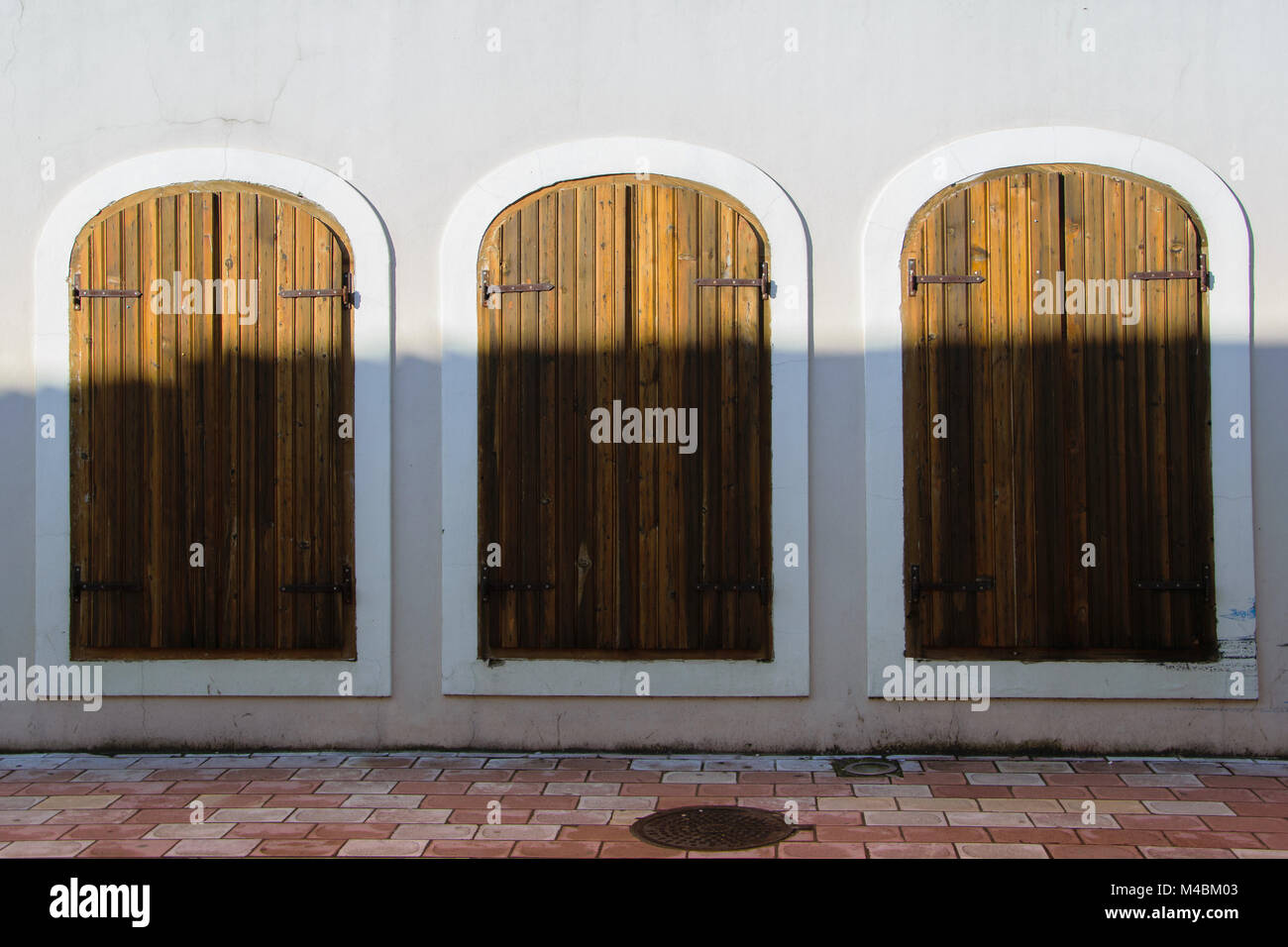 Three equal antique windows-doors, concept - make your choice with  different outputs - Three Equal Antique Windows-doors, Concept - Make Your Choice With