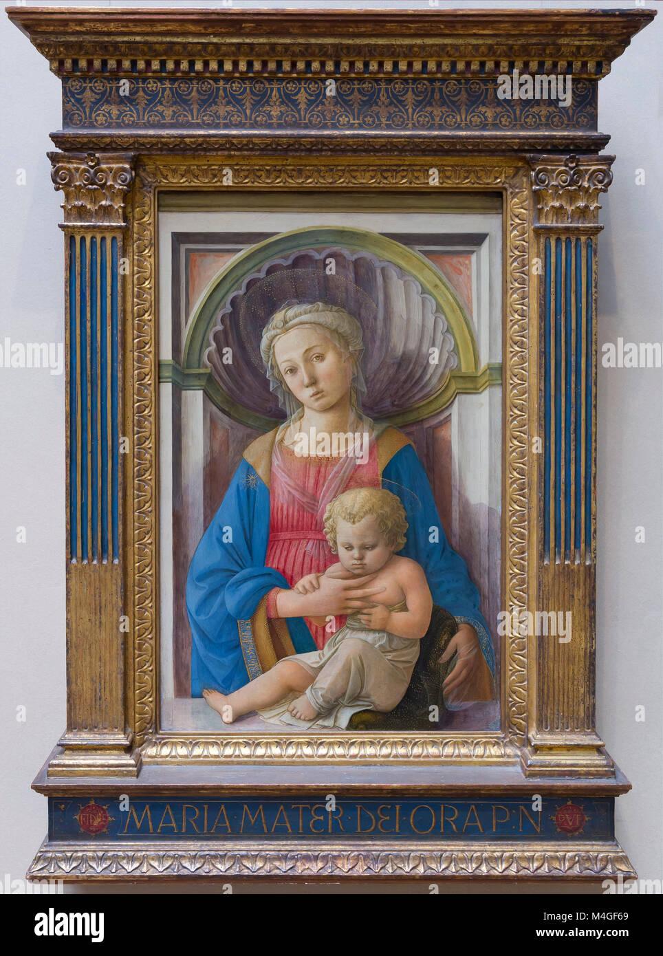 madonna and child lippi