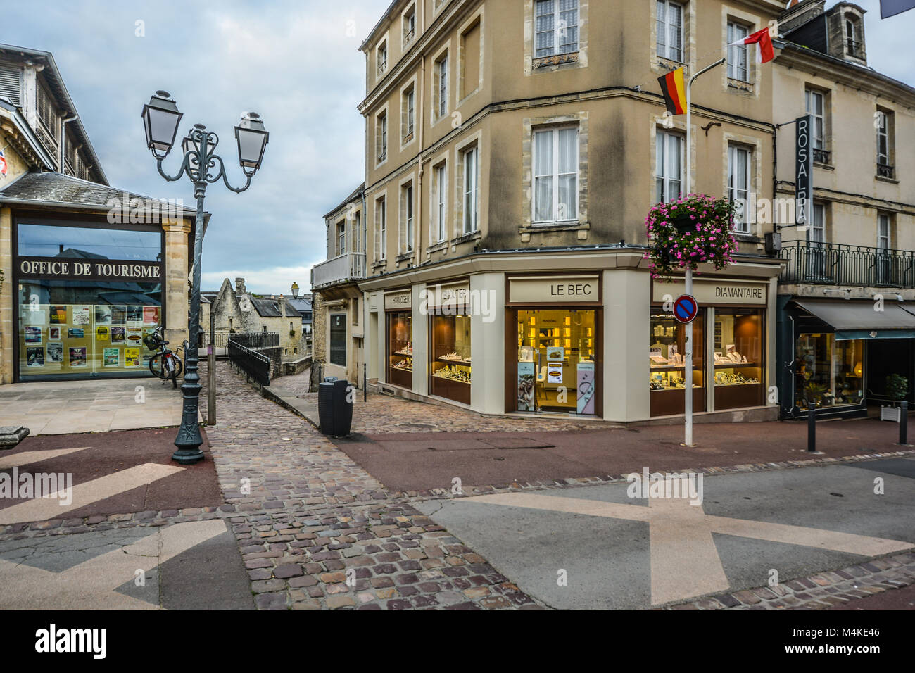 Normandy town stock photos normandy town stock images alamy - Office de tourisme bayeux ...
