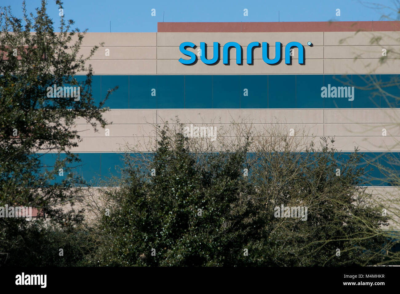 Scottsdale sign stock photos scottsdale sign stock images alamy a logo sign outside of a facility occupied by sunrun in scottsdale arizona on buycottarizona Choice Image