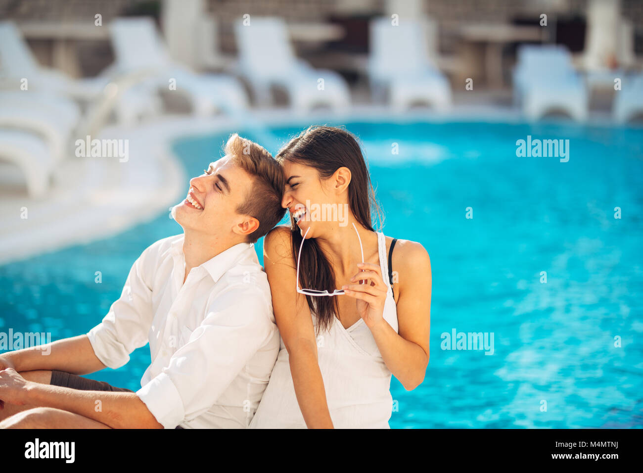 Emo couple stock photos emo couple stock images alamy for Couples spa weekend getaway