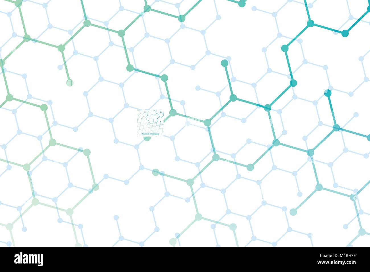 Medical Abstract Geometric Background Template Brochure Design