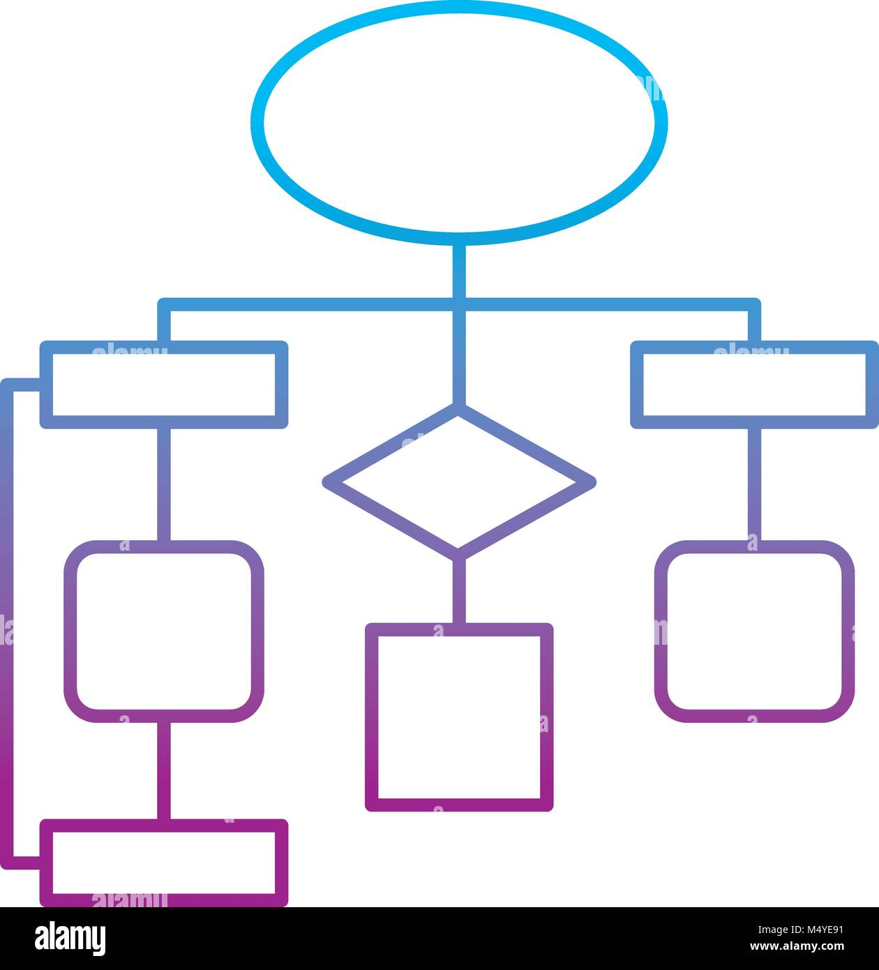 Business process flow chart stock photos business process flow diagram flow chart connection empty stock image nvjuhfo Gallery
