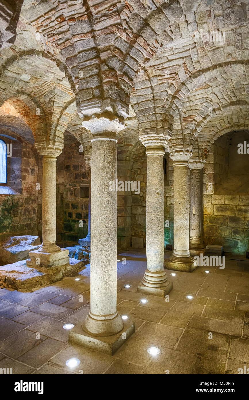 Old Stone Pillars : Ancient old stone pillars stock photos