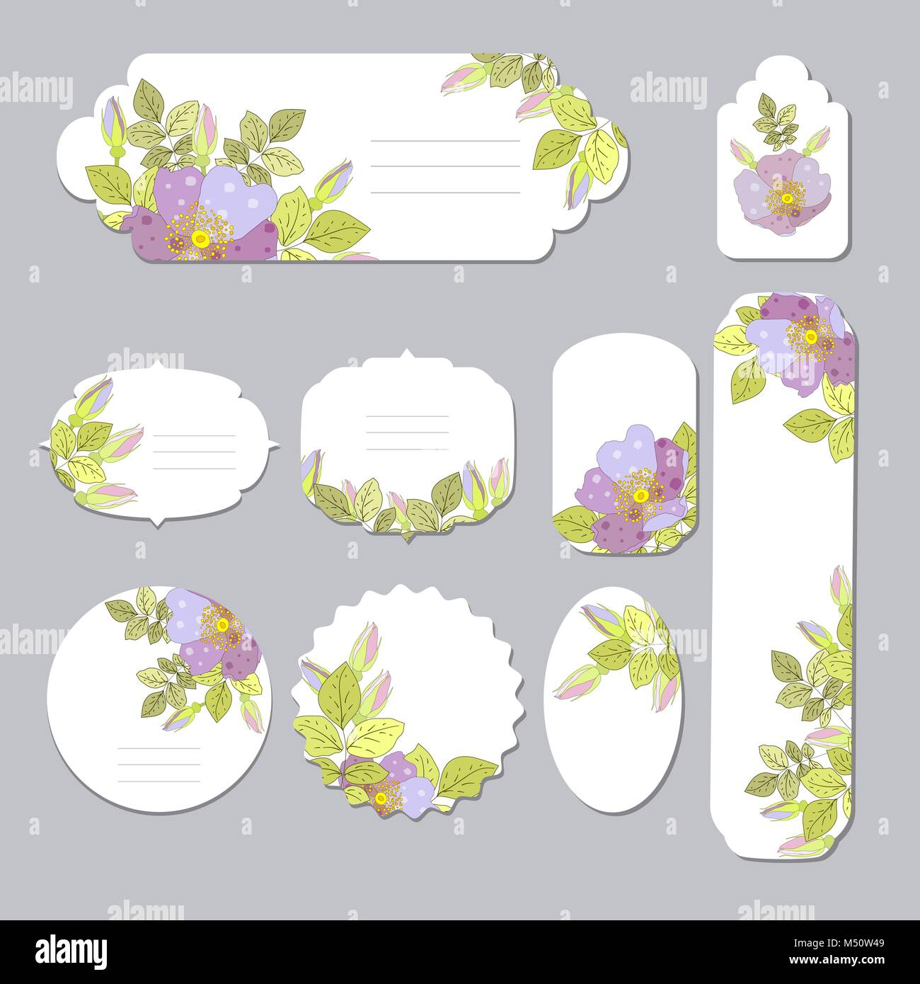 Floral spring templates with cute flowers for romantic and easter floral spring templates with cute flowers for romantic and easter design announcements greeting cards posters advertisement mightylinksfo