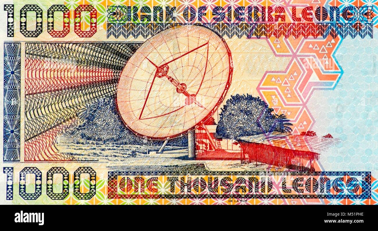 Money sierra leone stock photos money sierra leone stock images sierra leone 1000 leone bank note stock image biocorpaavc