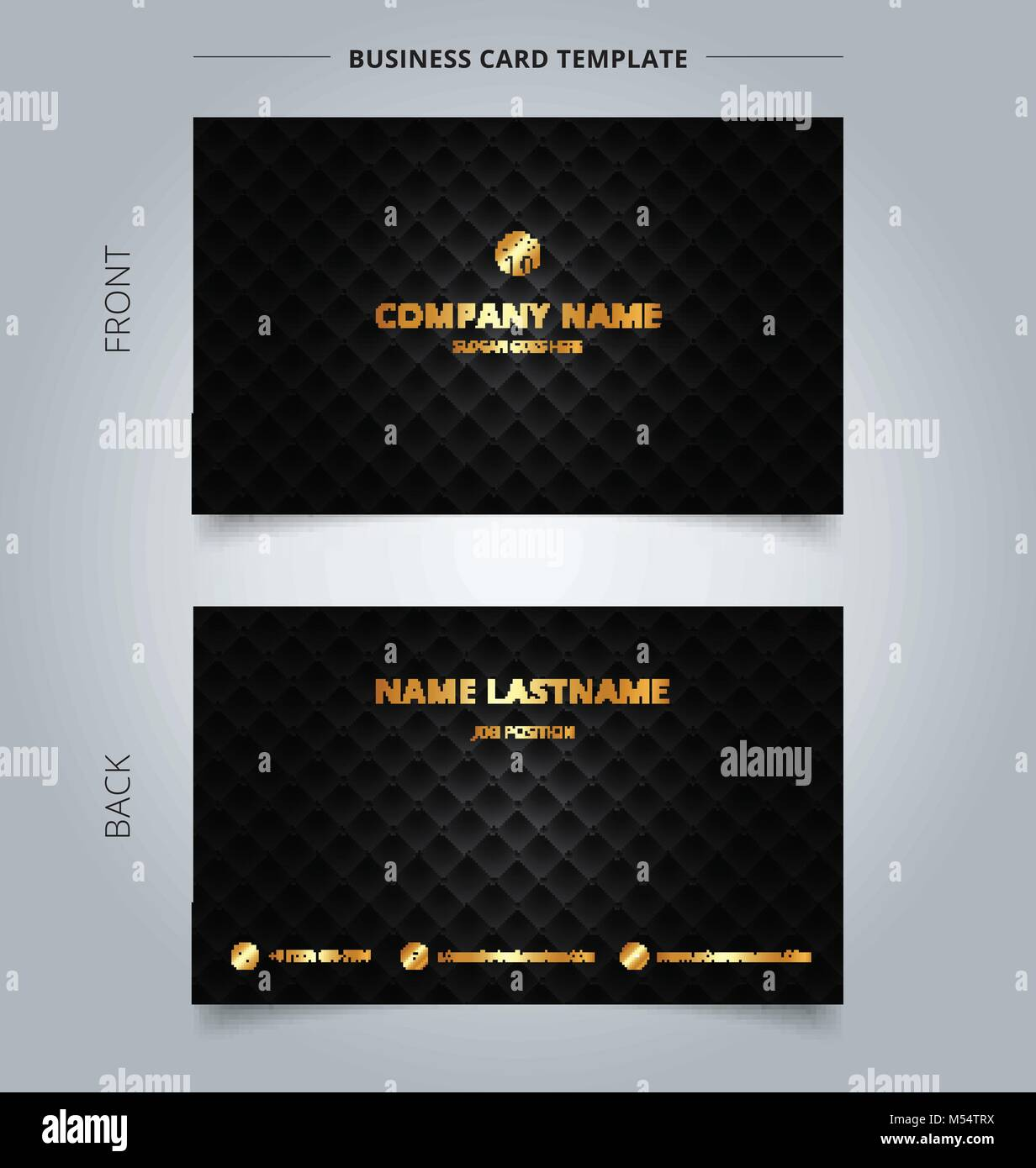 Creative business card and name card template blue and white with creative business card and name card template blue and white with lines horizontal abstract concept and commercial design vector graphic illustratio reheart Choice Image