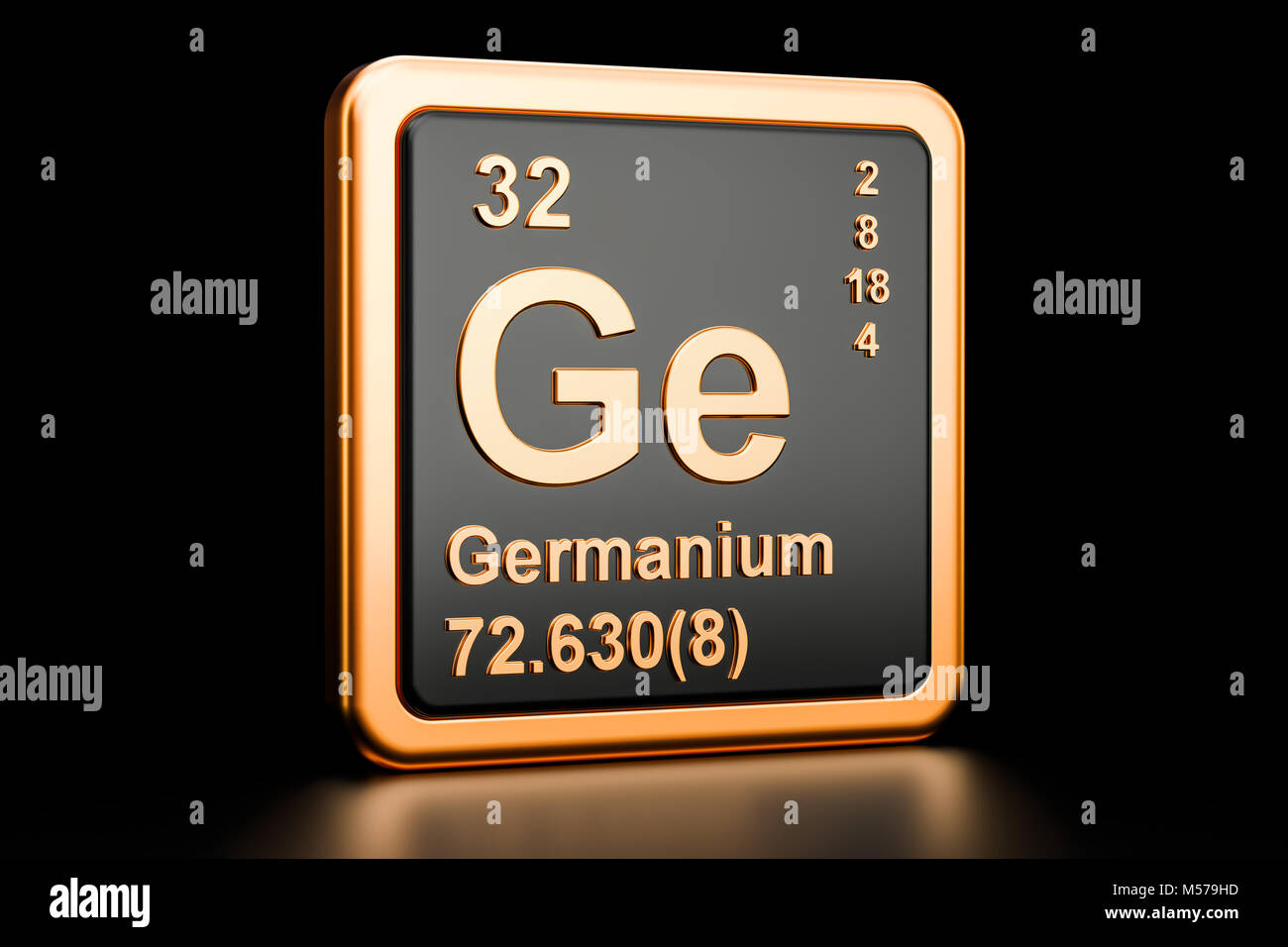 Germanium ge stock photos germanium ge stock images alamy germanium ge chemical element 3d rendering isolated on black background stock image biocorpaavc Gallery