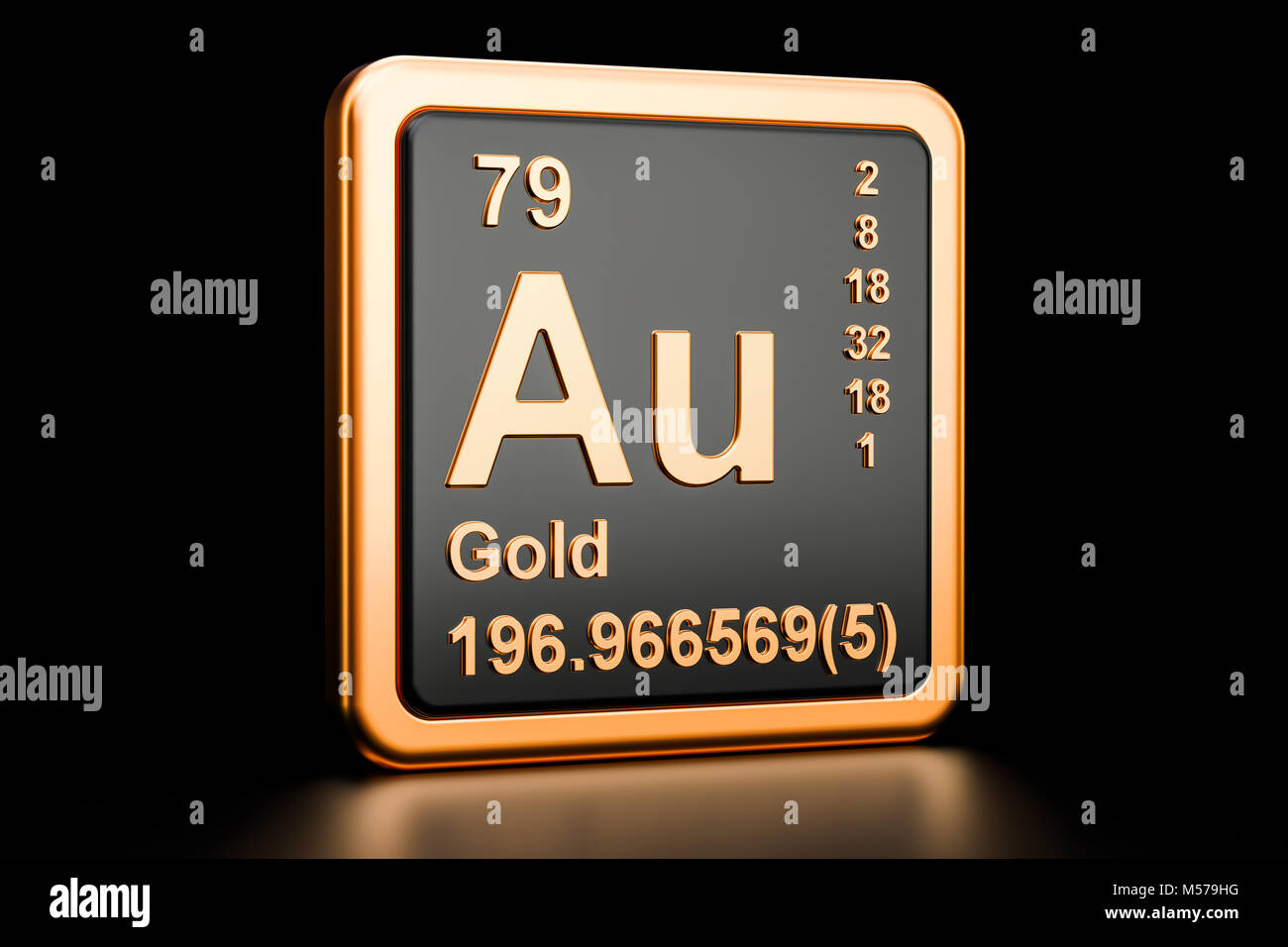 Symbol au chemical element gold stock photos symbol au chemical gold aurum au chemical element sign 3d rendering isolated on black background stock biocorpaavc