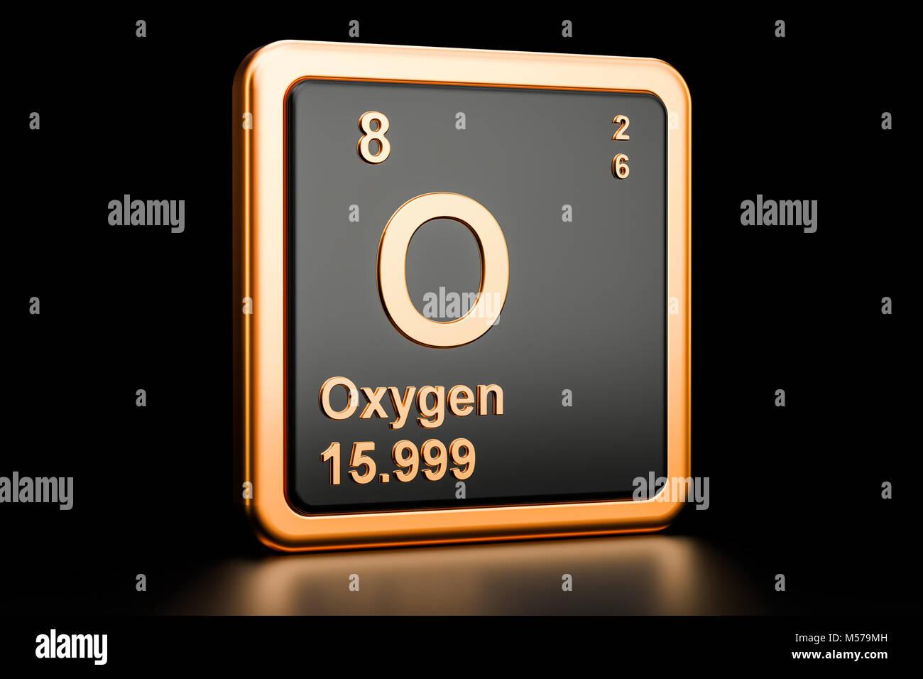 Atomic oxygen stock photos atomic oxygen stock images alamy oxygen o element isolated on black background stock image buycottarizona Choice Image