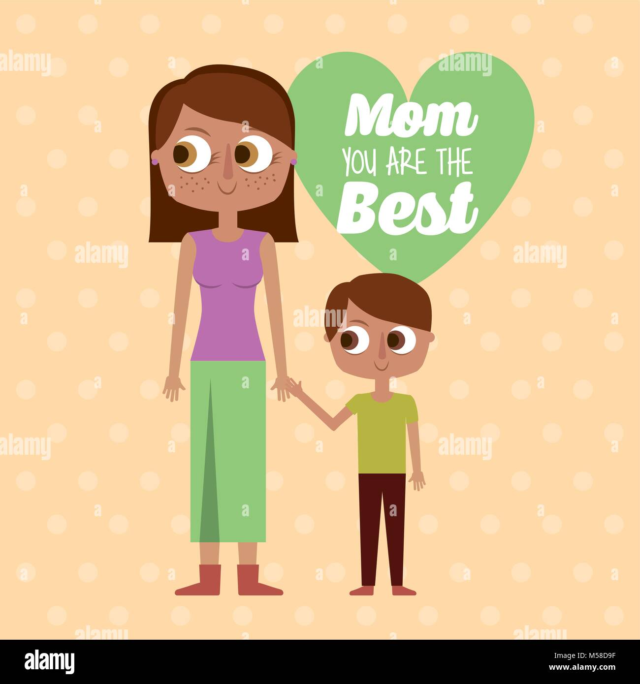 Mom you are the best greeting card mother and son together stock mom you are the best greeting card mother and son together kristyandbryce Image collections