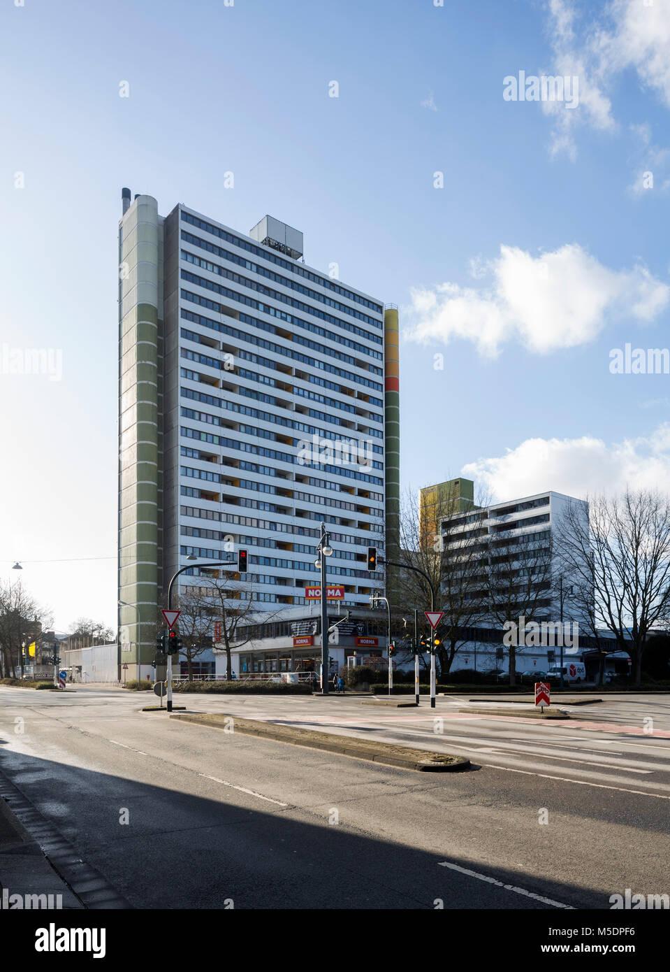 Architekten Krefeld krefeld hochhaus am bleichpfad 1974 den architekten g röder