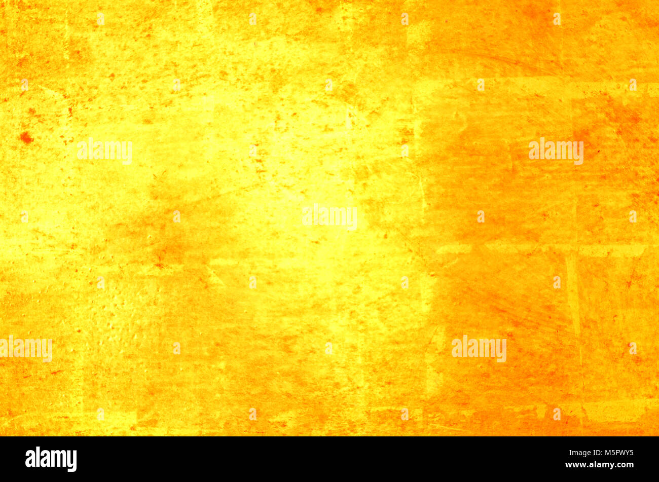 Blur abstract photo image of bright gold color light reflect from a ...