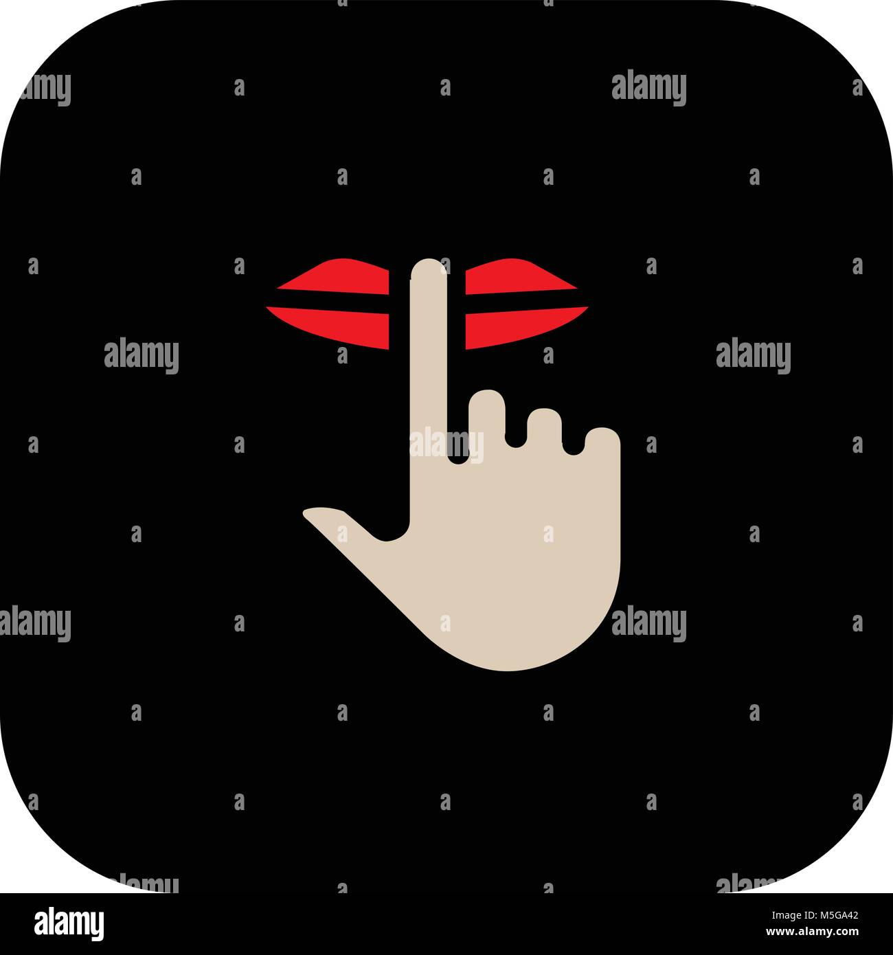 Be quiet sign vector illustration stock vector art illustration be quiet sign vector illustration buycottarizona