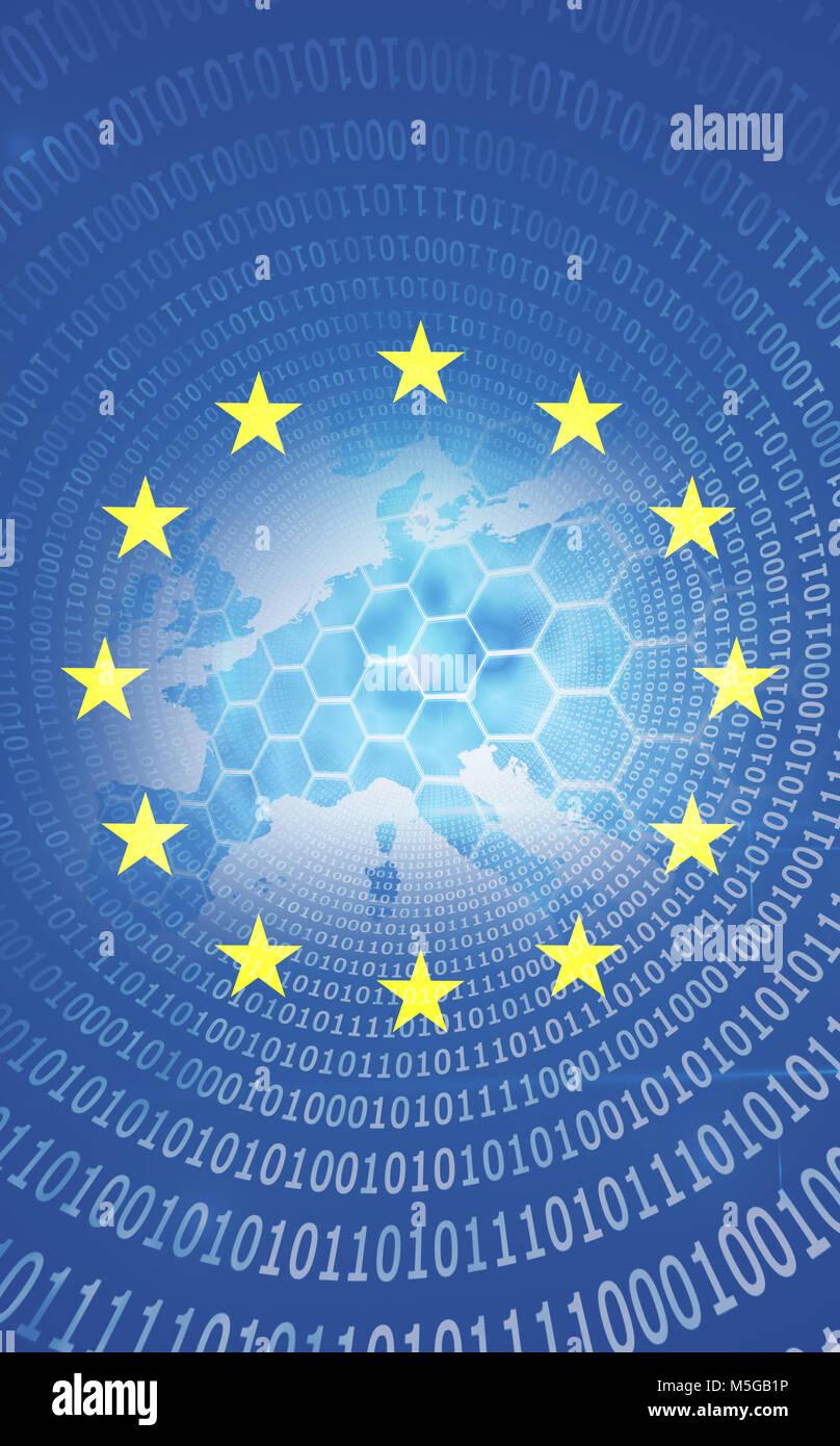 binary europa