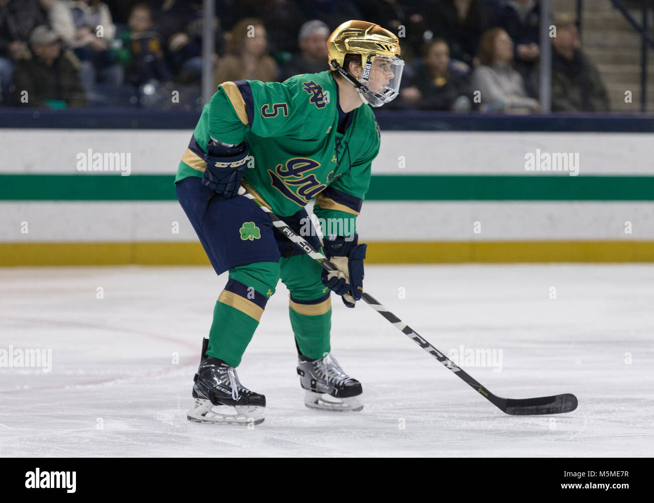 Image result for notre dame hockey green 2018