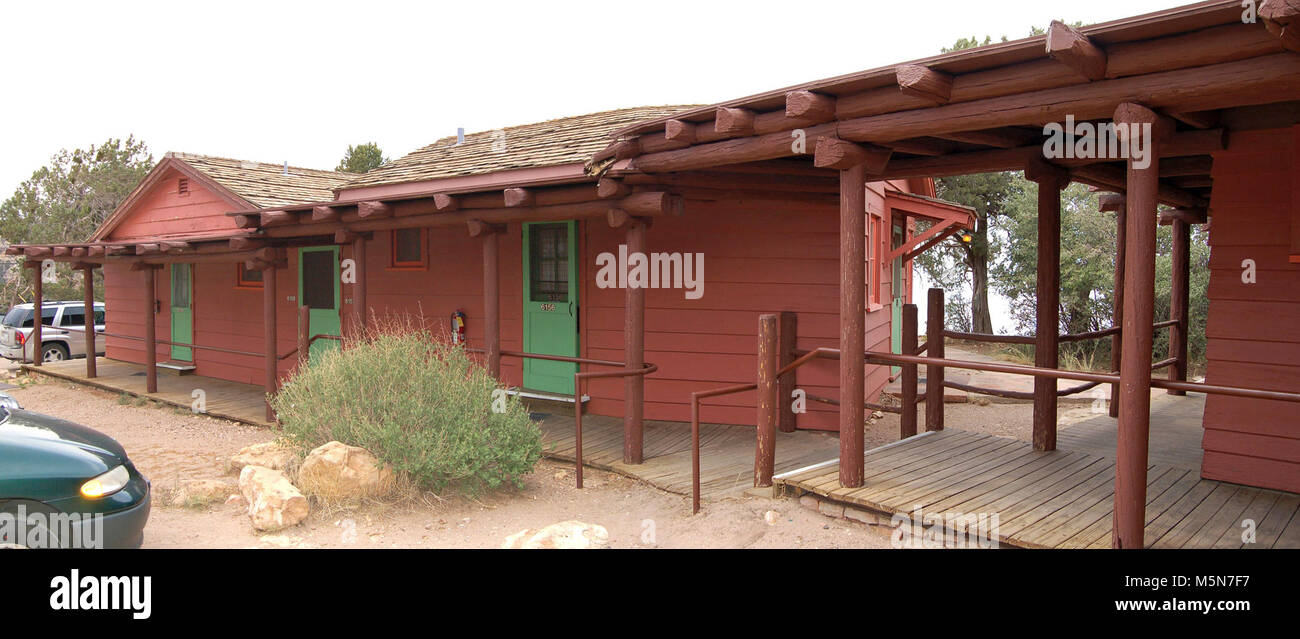 Grand Canyon National Park Bright Angel Lodge . The Rim Cabins. Bright Angel  Lodge,