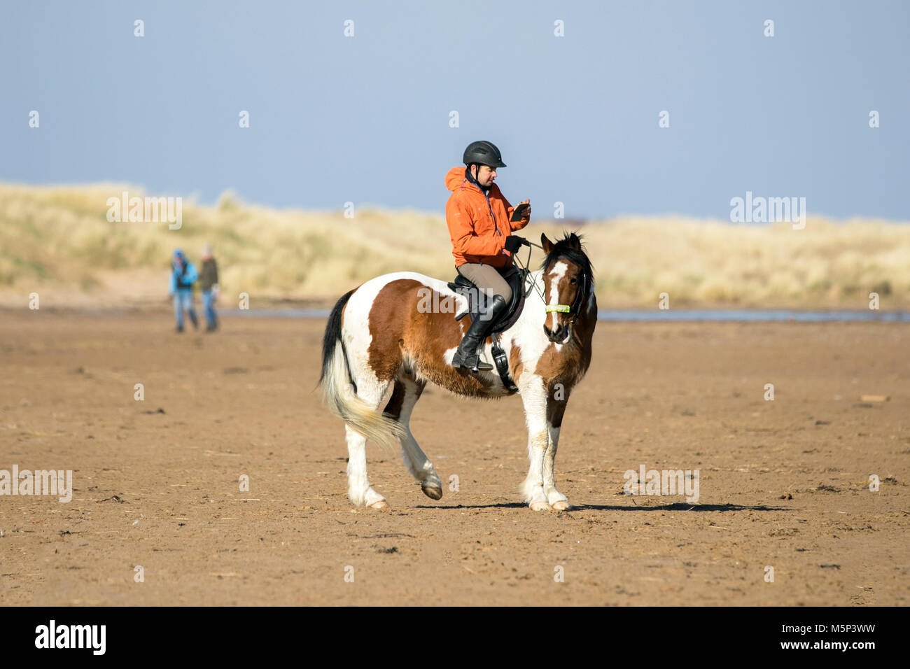 Horse riders in southport 25th february 2018 uk weather bright horse riders in southport 25th february 2018 uk weather bright sunshine and blue skies greet these horse riders as they head out for a gallop along the m4hsunfo