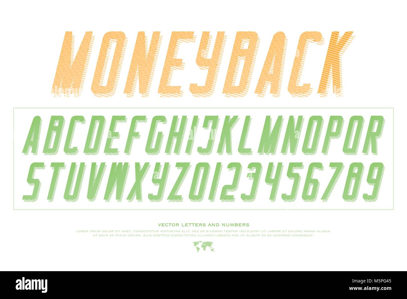 Bank notes alphabet letters and numbers vector money font type bank notes alphabet letters and numbers vector money font type design currency lettering slanted symbols stylish oblique typesetting italic san buycottarizona Gallery