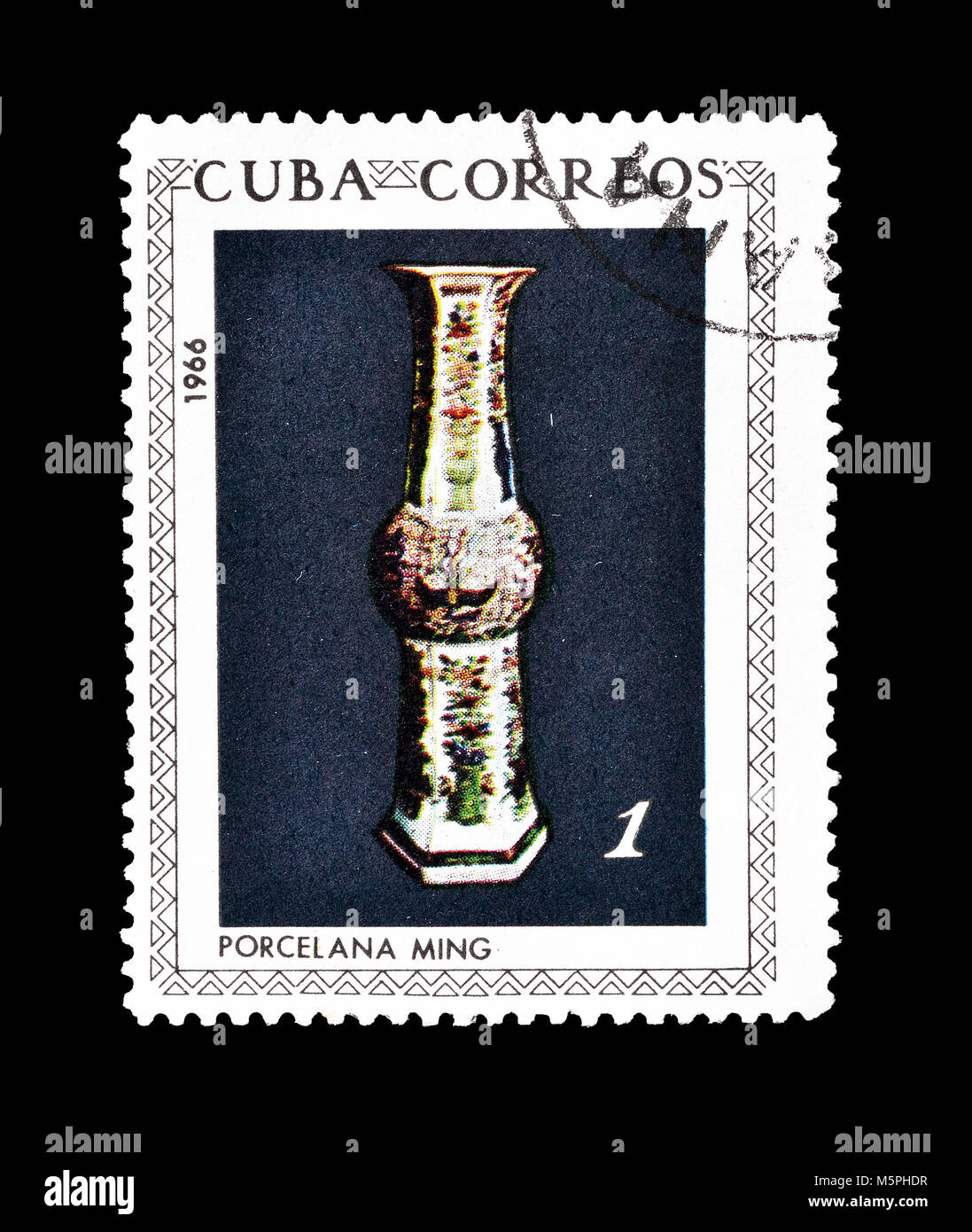 Ming vase stock photos ming vase stock images alamy cancelled postage stamp printed by cuba that shows ming porcelain vase circa 1966 reviewsmspy