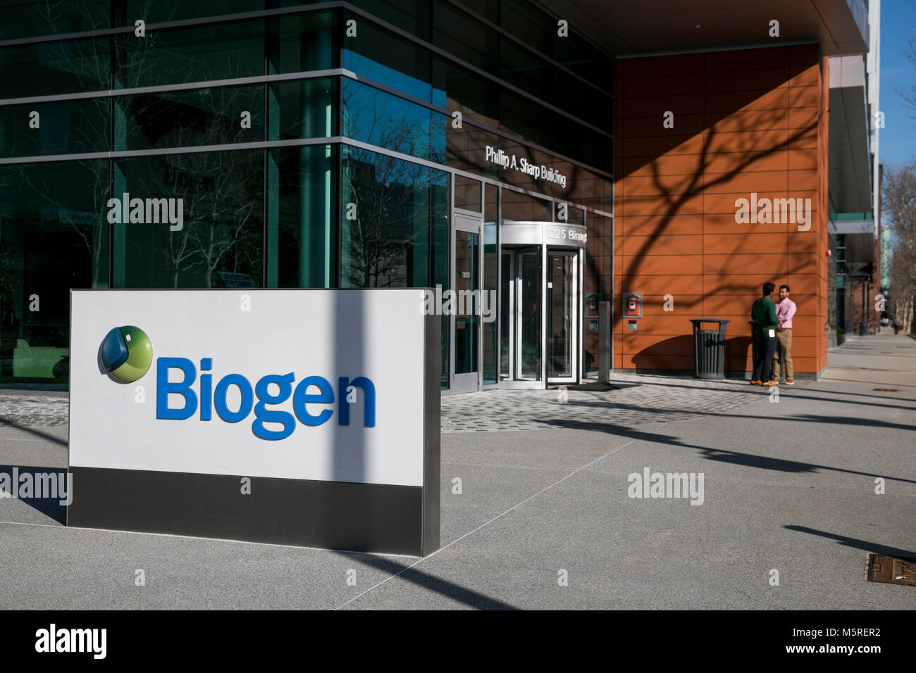 Biogen stock photos biogen stock images alamy a logo sign outside of the headquarters of biogen inc in cambridge buycottarizona Image collections