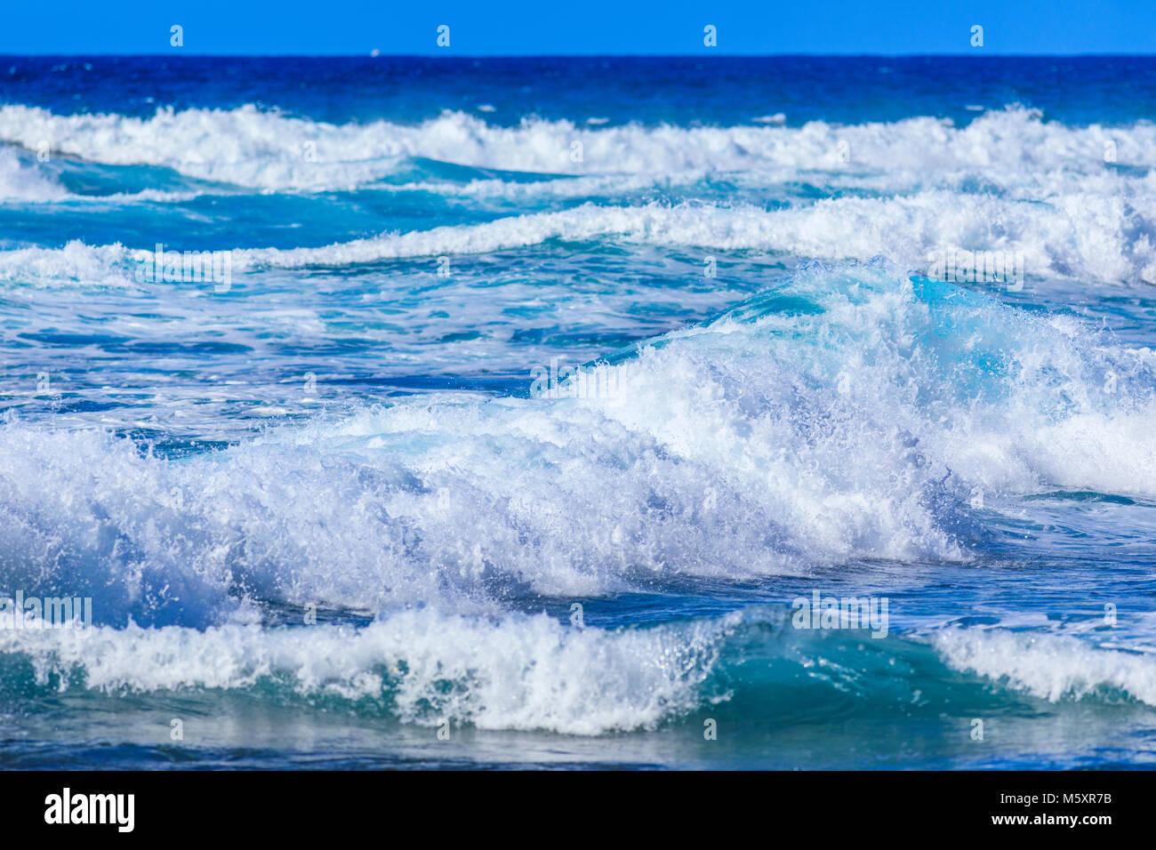 ocean waves background stock photo 175765951 alamy