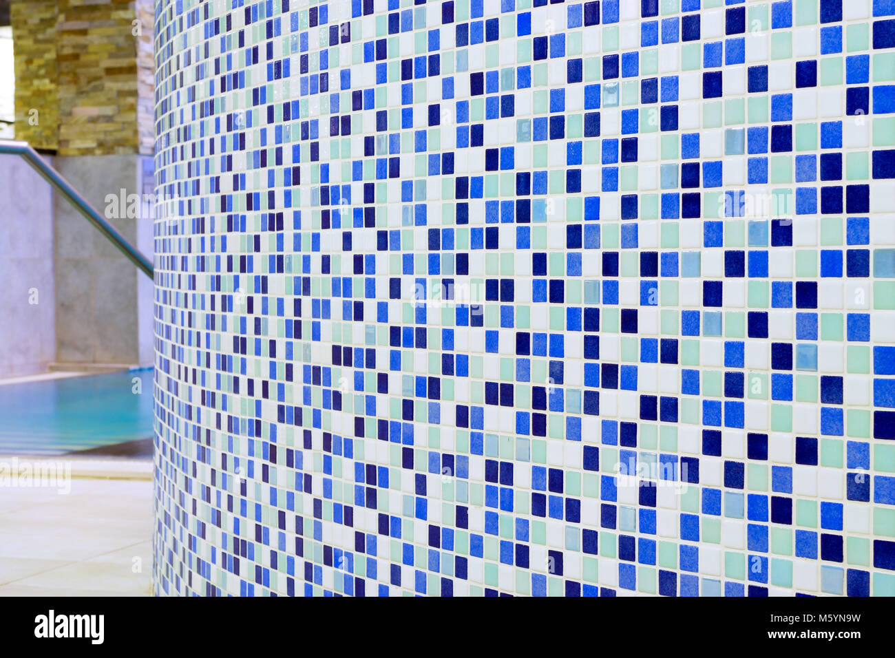 Checkered tile background pattern. Architectural mosaic detail Stock ...