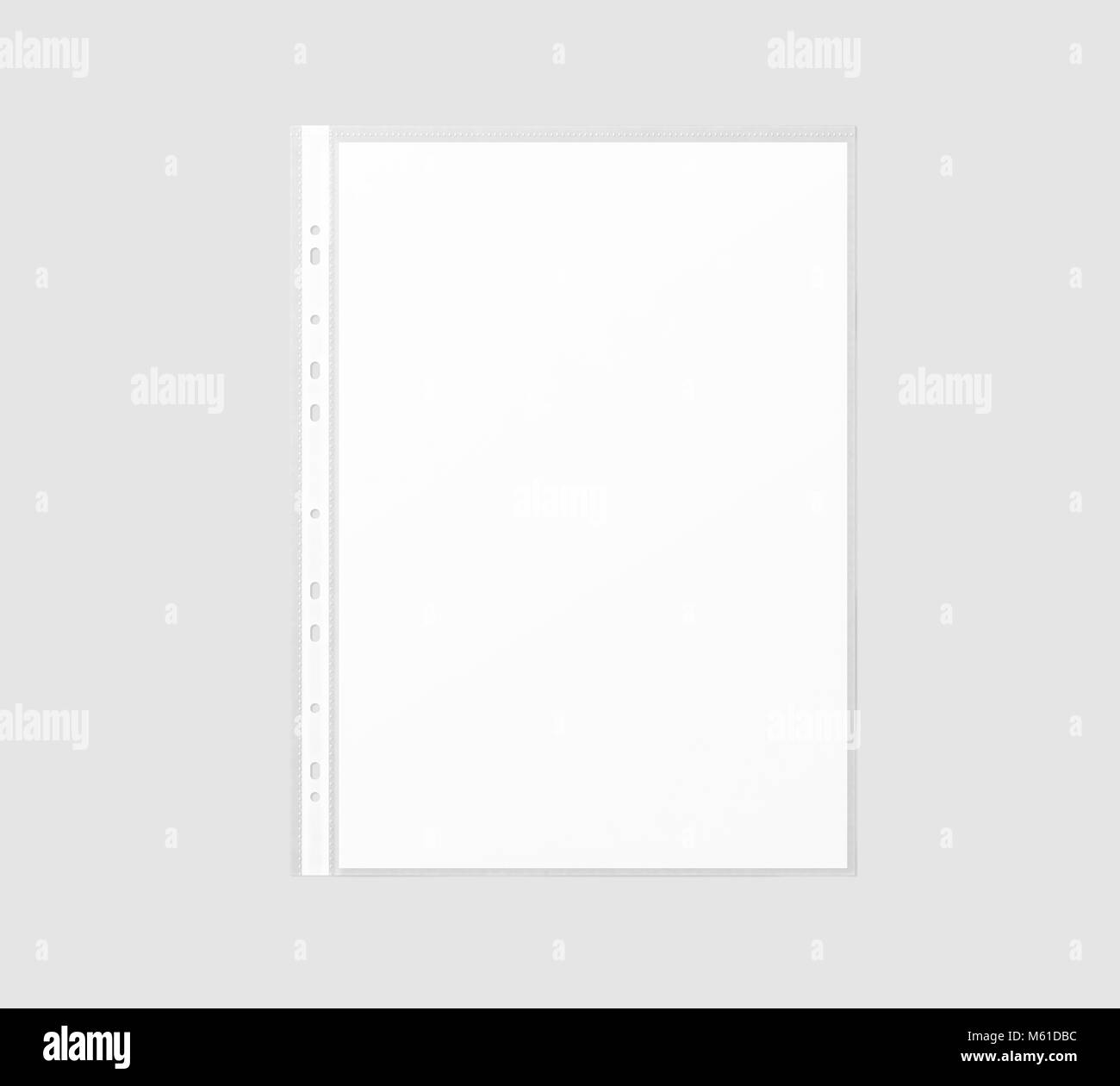 Pocket protector stock photos pocket protector stock images alamy blank white a4 paper sheet mockup in transparent plastic sleeve 3d rendering cellophane document buycottarizona