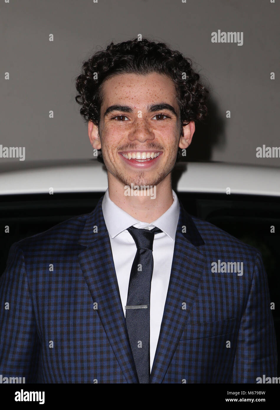 los angeles ca february 28 cameron boyce at the 15th