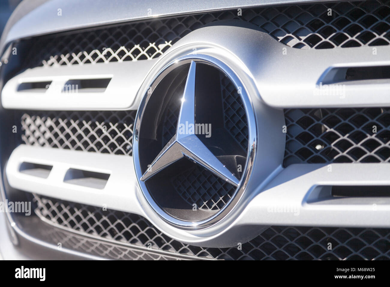 Fuerth germany february 25 2018 mercedes benz symbol on a fuerth germany february 25 2018 mercedes benz symbol on a car mercedes benz is a global automobile marque and a division of the german company biocorpaavc Image collections