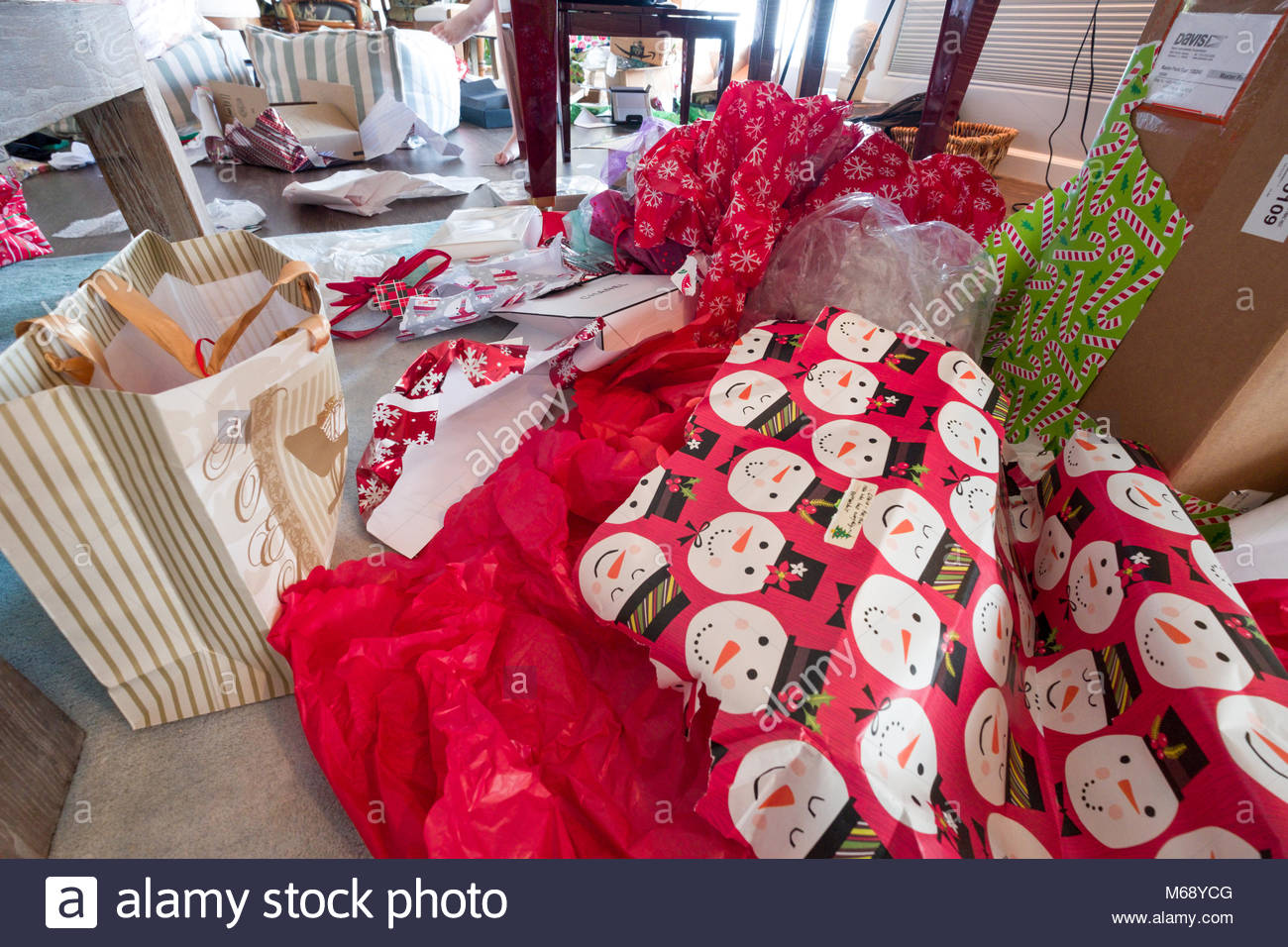 piles-of-discarded-wrapping-paper-and-ca