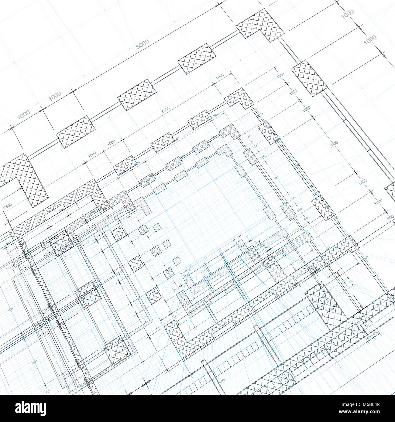 Estate office stock photos estate office stock images page 2 architecture blueprint design and 3d rendering model my own stock image malvernweather Gallery