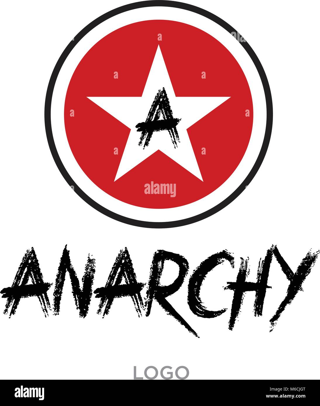 Anarchy sign stock photos anarchy sign stock images alamy anarchy logo sign of disorder and chaos emblem of arbitrariness and lack of state buycottarizona
