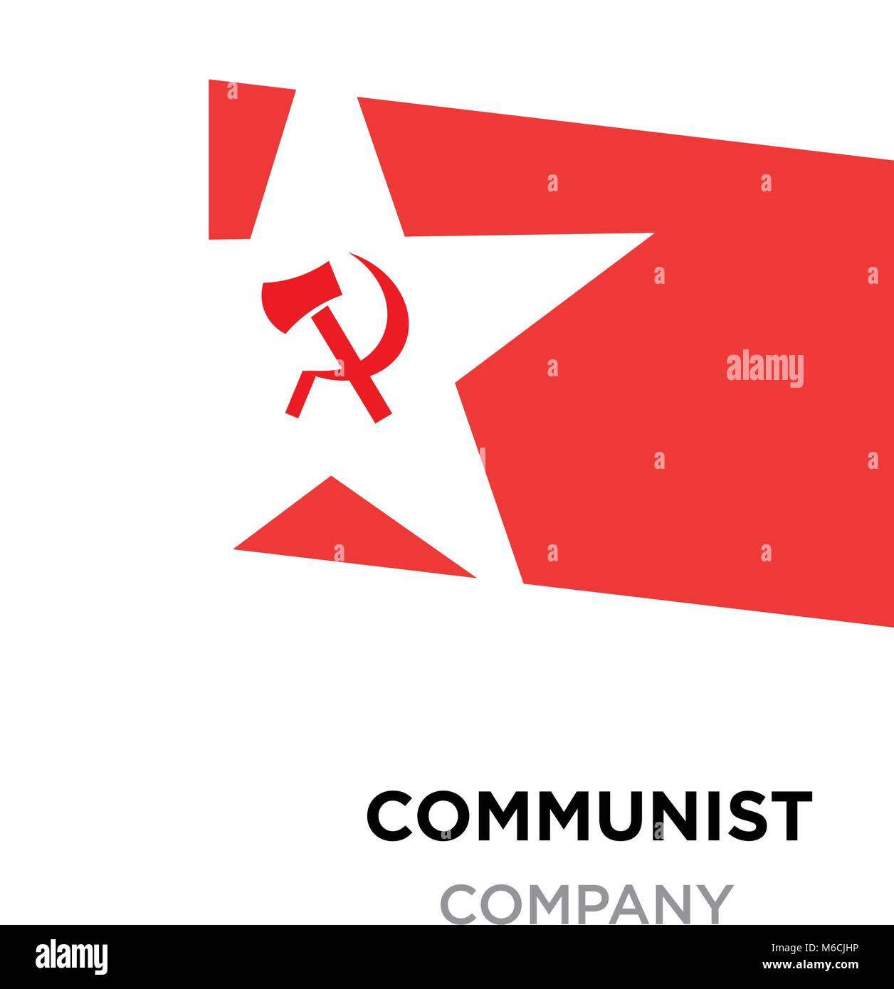 Communist logoussr communism icon with red hammer and sickle stock communist logoussr communism icon with red hammer and sickle socialism symbol inside white star buycottarizona Gallery