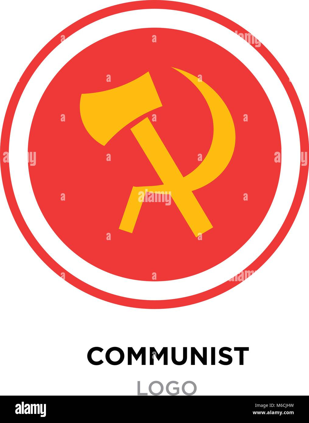 Symbol for socialism image collections symbol and sign ideas communist logoussr communism icon with yellow hammer and sickle communist logoussr communism icon with yellow hammer biocorpaavc Gallery