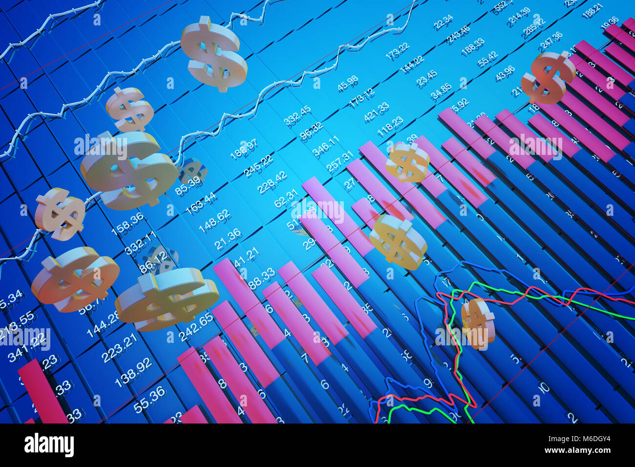 Stock market symbols stock photos stock market symbols stock financial stock market data currency symbols financial reform stock image buycottarizona Gallery