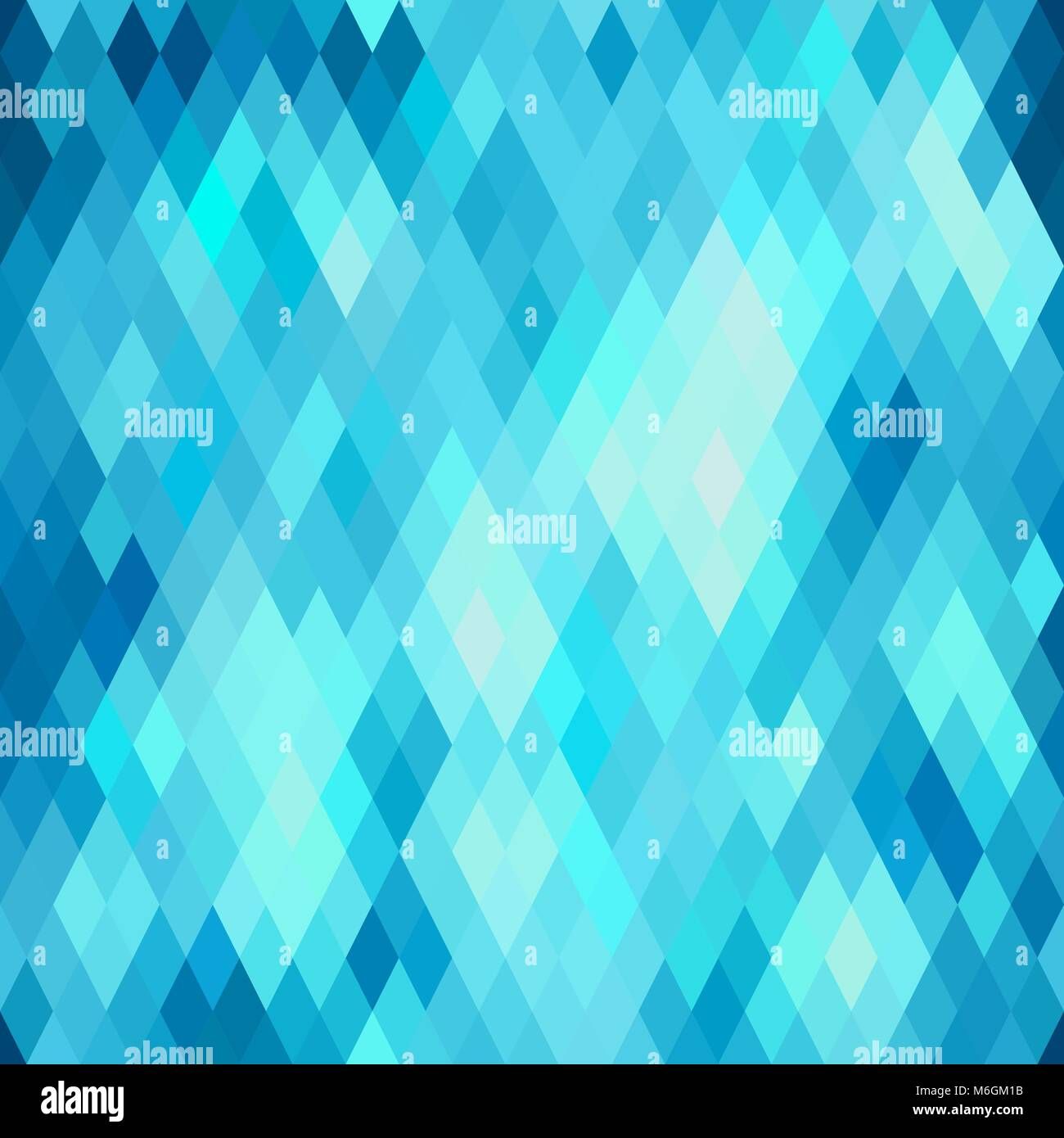 Seamless abstract geometric pattern with rhombus Stock