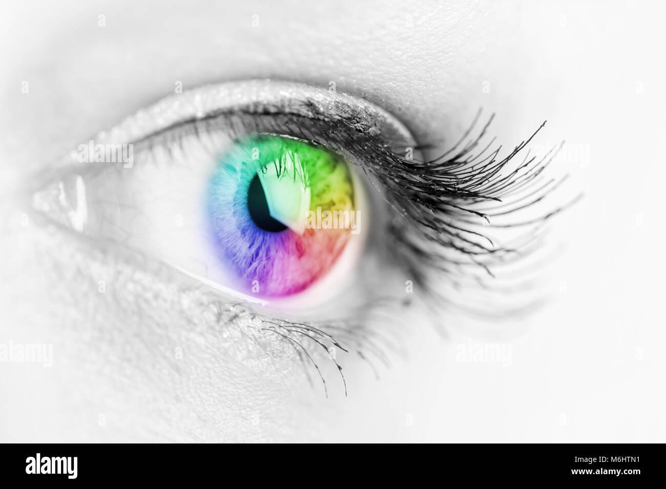 Eye Rainbow Stock Photos & Eye Rainbow Stock Images - Alamy