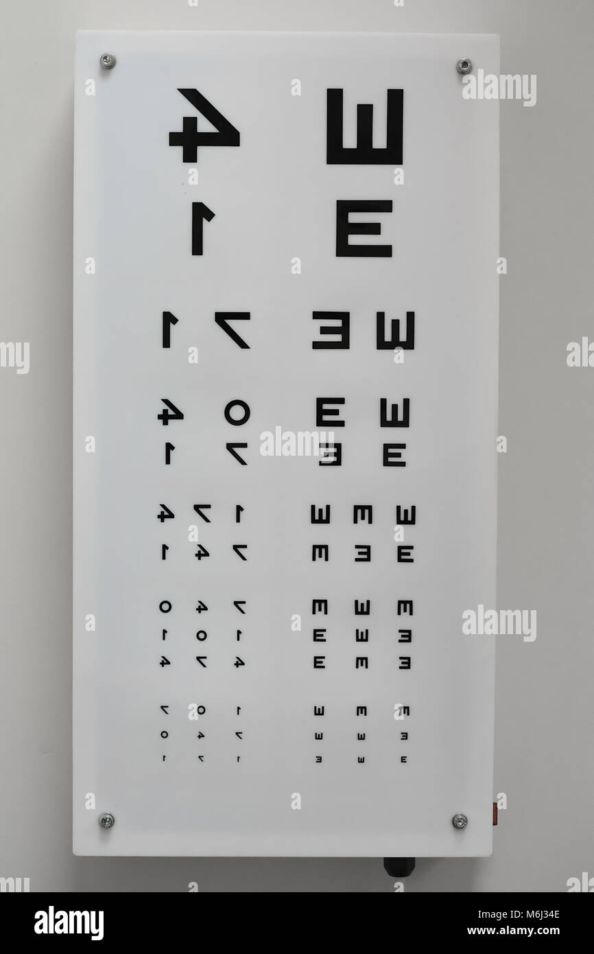 Toddler eye test chart choice image chart design ideas eye test chart stock photos eye test chart stock images alamy zrenjanin serbia february 2018 eye geenschuldenfo Choice Image