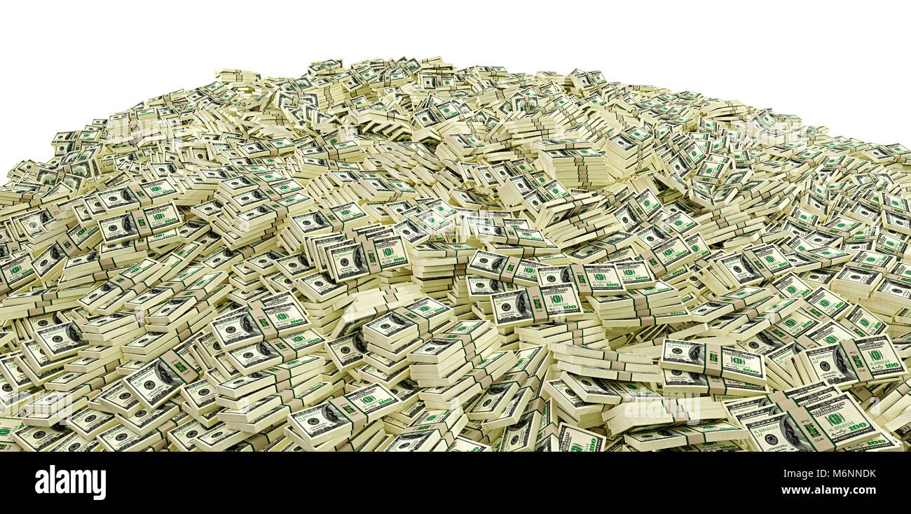 millions of dollars big pile of money stock photo 176269455 alamy