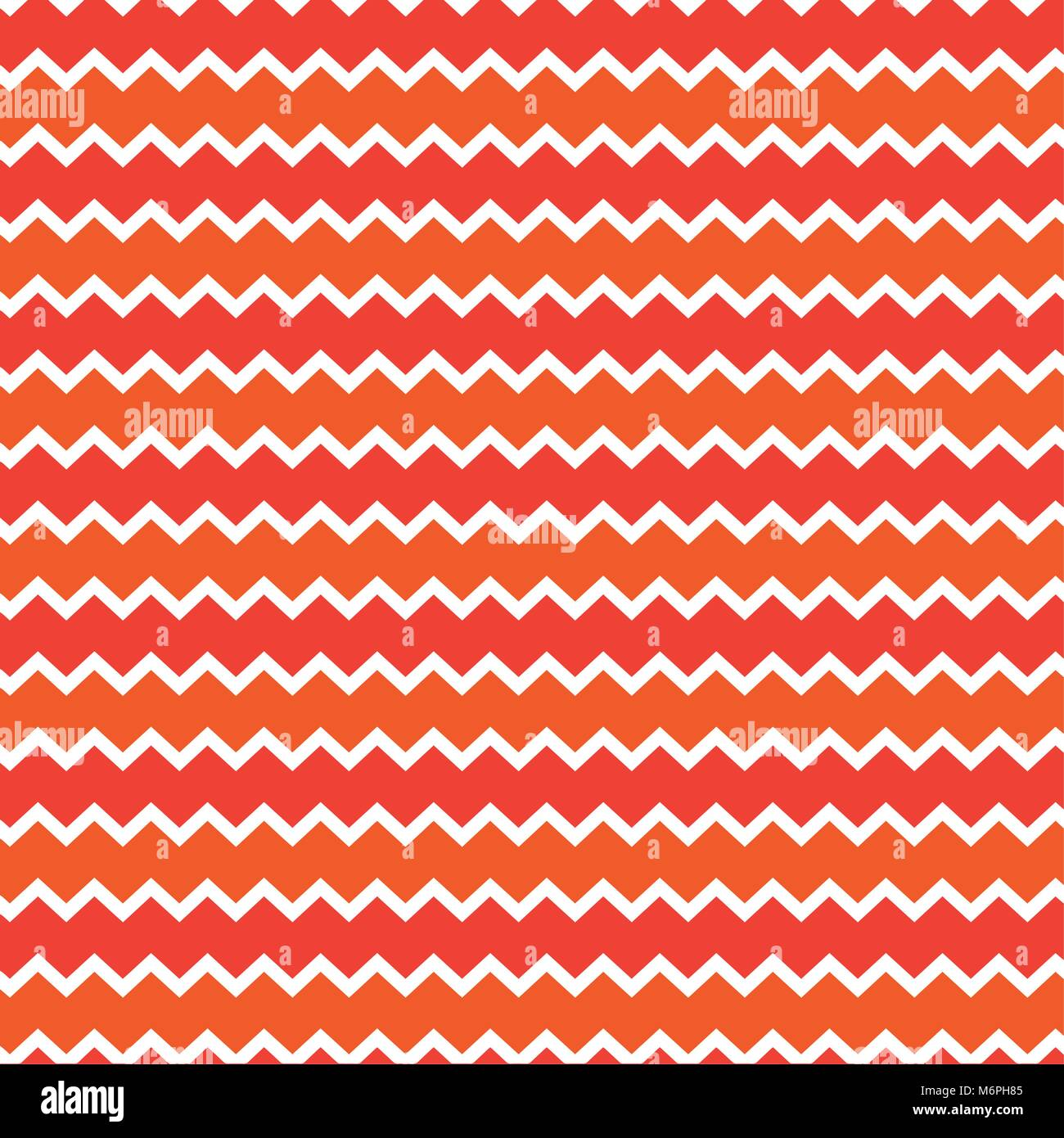 Retro Chevron Pattern Background With White Red And Orange Colors