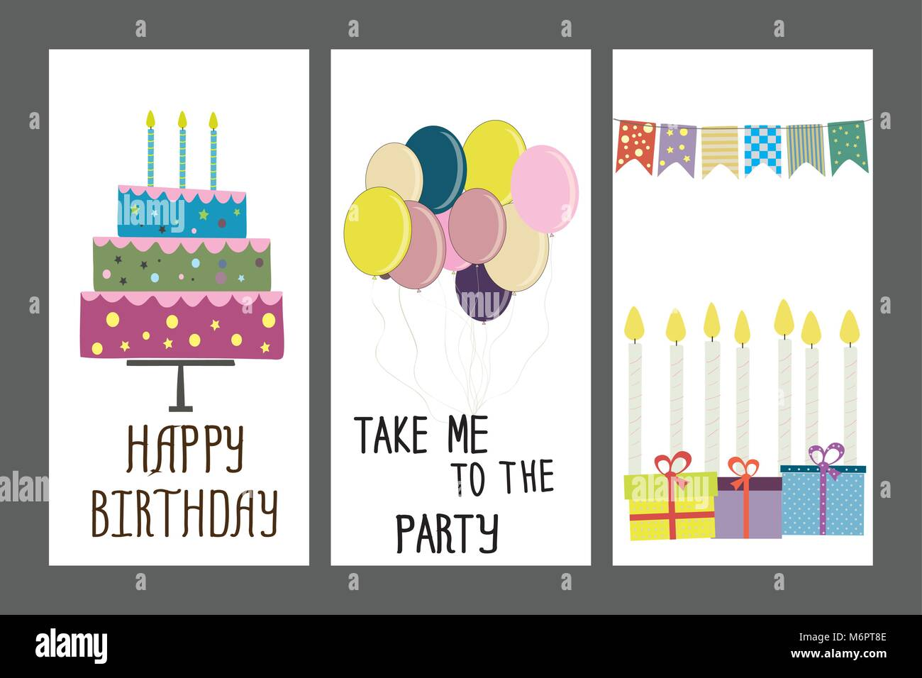 Happy birthday holiday greeting and invitation card layout stock happy birthday holiday greeting and invitation card layout template ock vector illustration stopboris Images