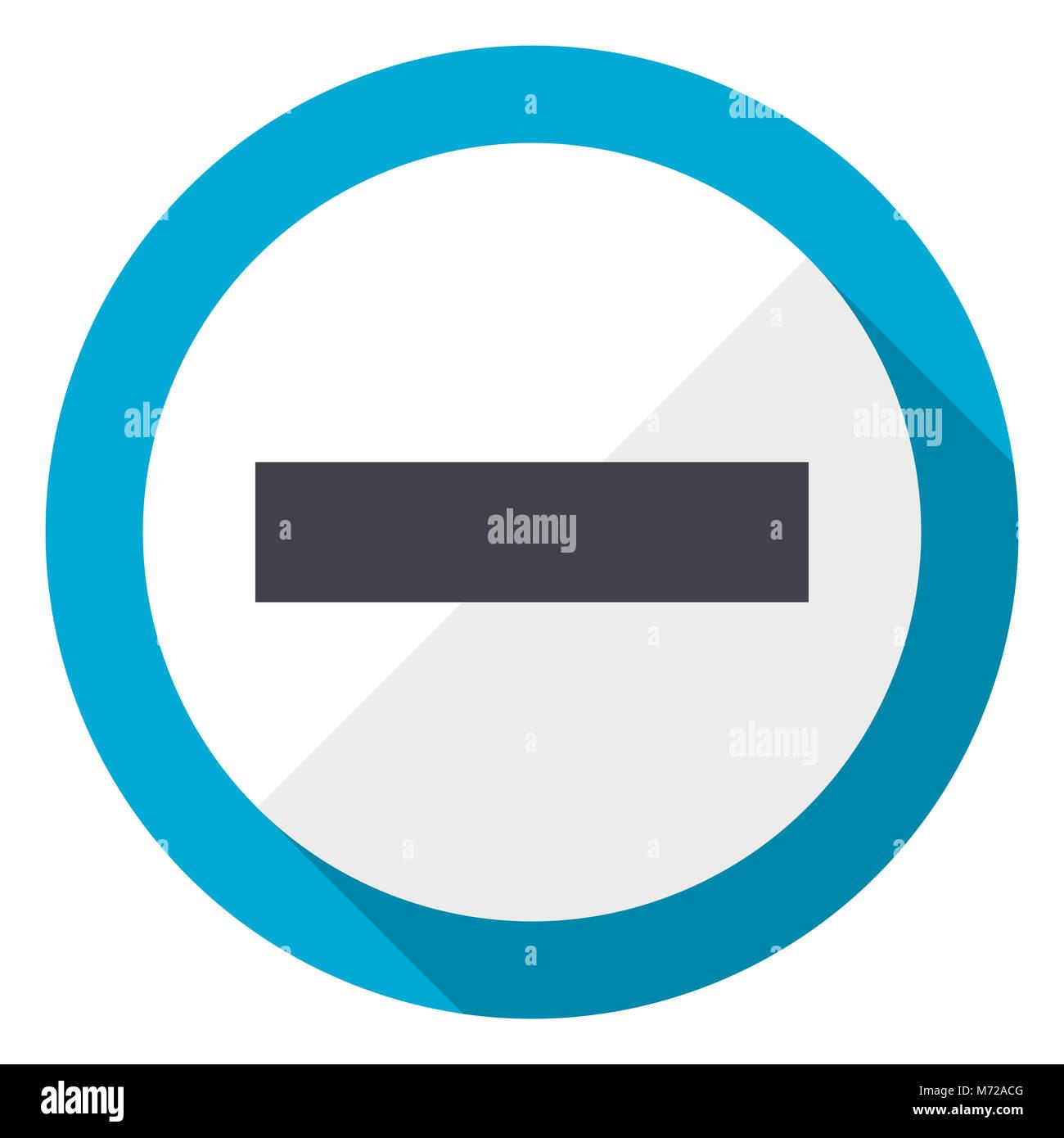 Logo android stock photos logo android stock images alamy minus blue flat design web icon stock image buycottarizona