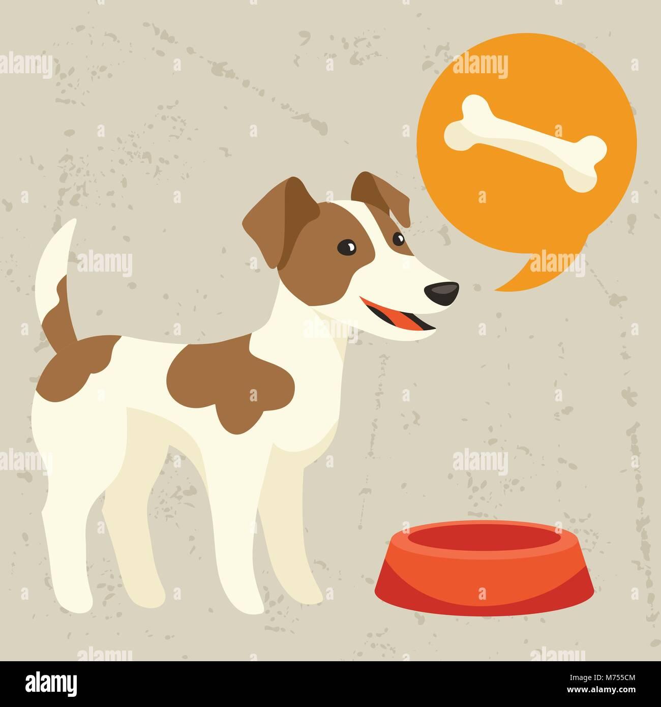 Cartoon Dog Bubble Stock Photos & Cartoon Dog Bubble Stock