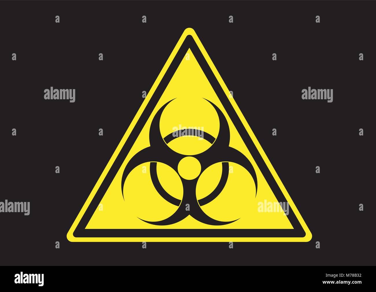 Biological hazard symbol stock photos biological hazard symbol design vector of biological hazard area sign stock image buycottarizona