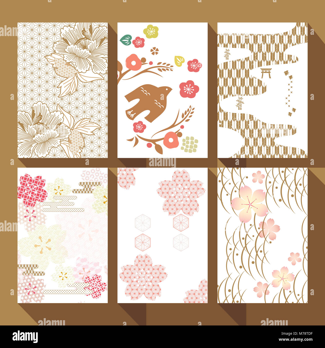 Japanese pattern vector gold geometric background cherry blossom japanese pattern vector gold geometric background cherry blossom flower bird river wave leaves elements invitation card wedding ceremony post stopboris Gallery