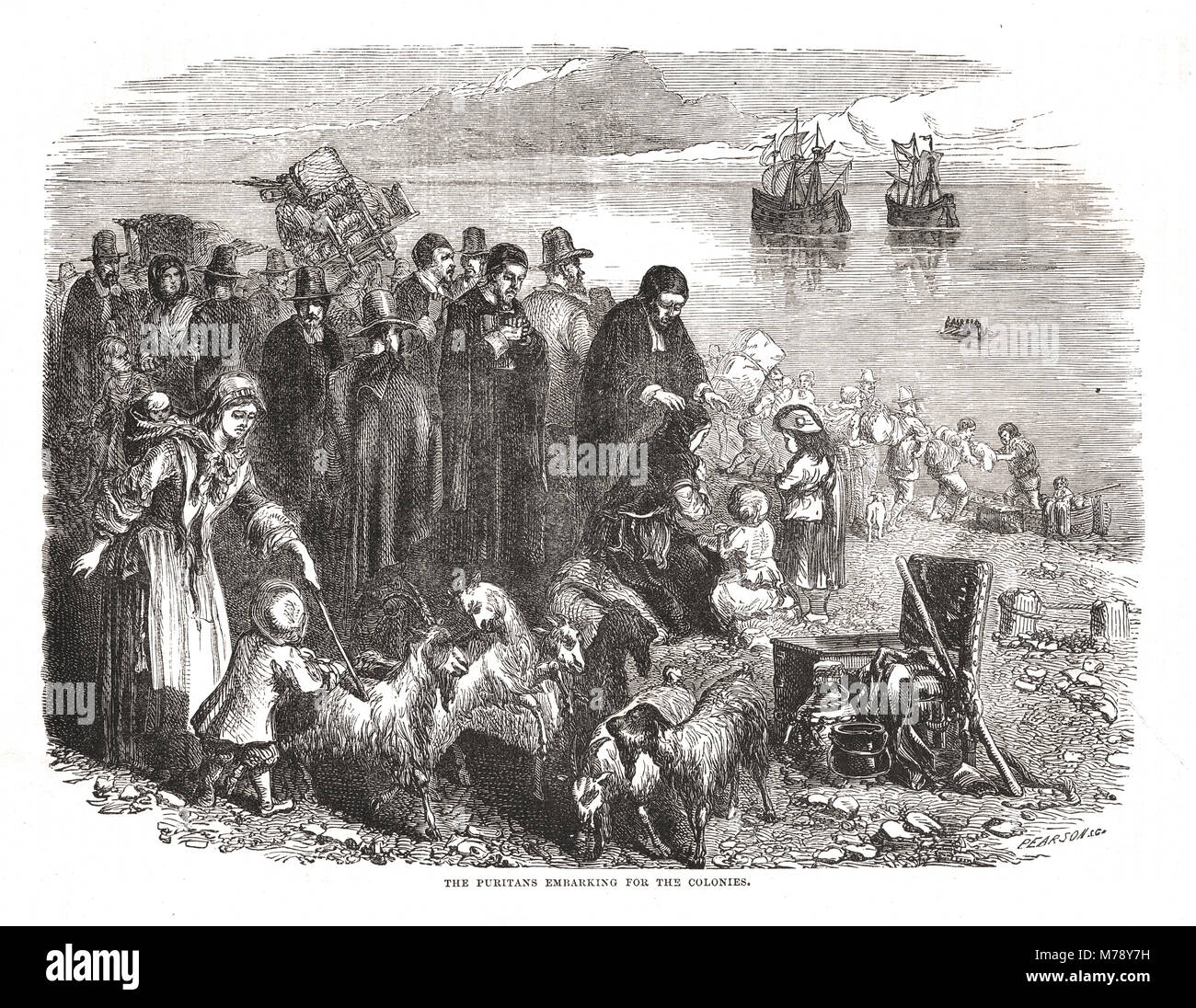 the puritan influence on the british colonies The puritans settled in to colonies in new england and began their practices of religion the population of the puritans rose by almost 90,000 from 1640 to 1700.