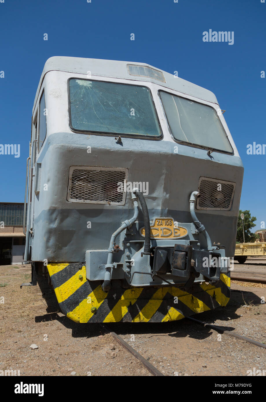 Cars of the ethio-djibouti railway station, Dire dawa region, Dire