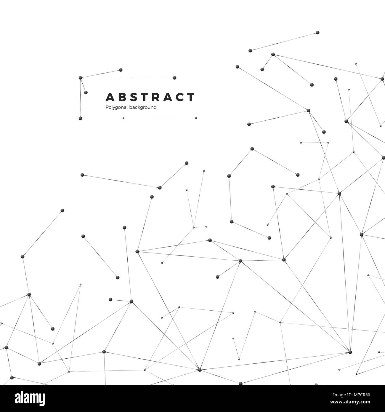 Technology and science background abstract web and nodes plexus technology and science background abstract web and nodes plexus atom structure vector illustration on white background ccuart Images