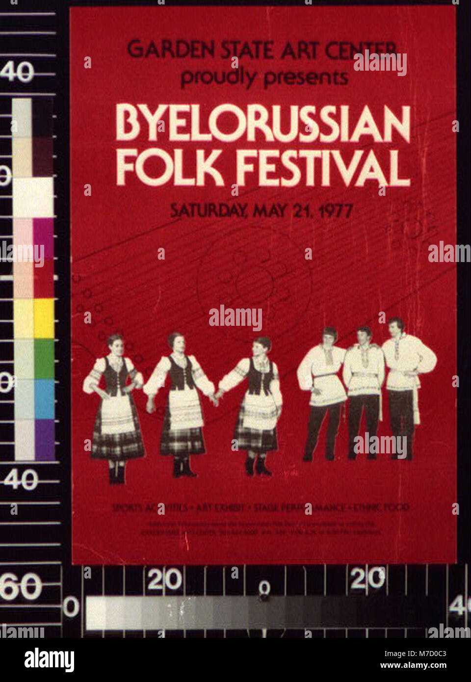 Garden State Art Center Proudly Presents Byelorussian Folk Festival,  Saturday, May 21, 1977 LCCN2015648264
